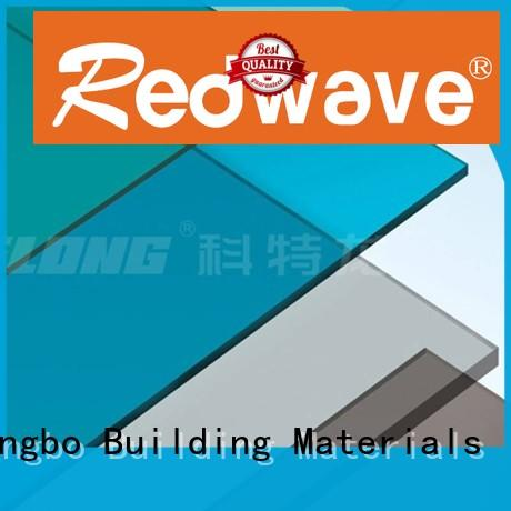 Redwave wholesale polycarbonate sheet certifications for ocean hall