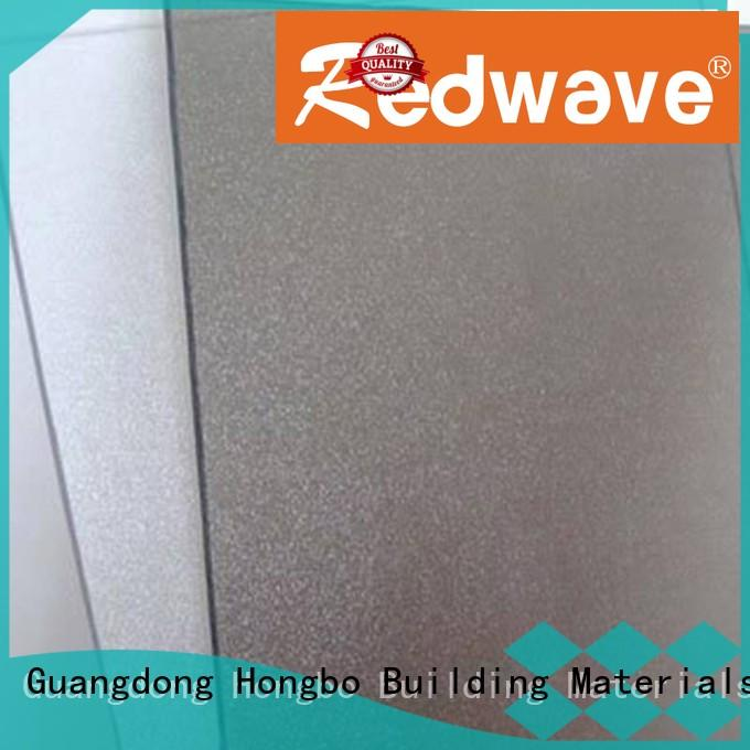 Redwave Brand polycarbonate corrugated green polycarbonate roofing sheets manufacture