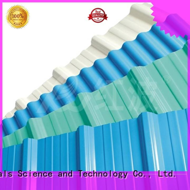 high quality heat plastic roof tiles tile upvc Redwave Brand