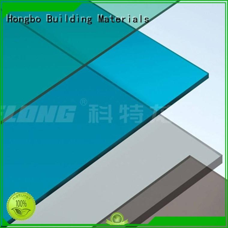 Redwave corrugated clear polycarbonate sheet factory price for housing