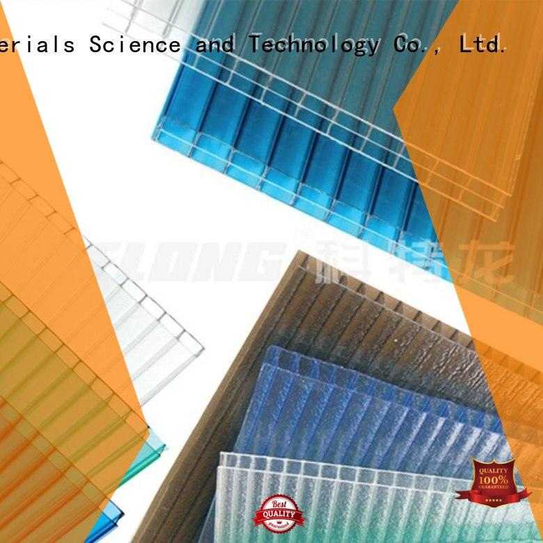 Redwave Brand dark brown polycarbonate roofing sheets 3.0mm factory