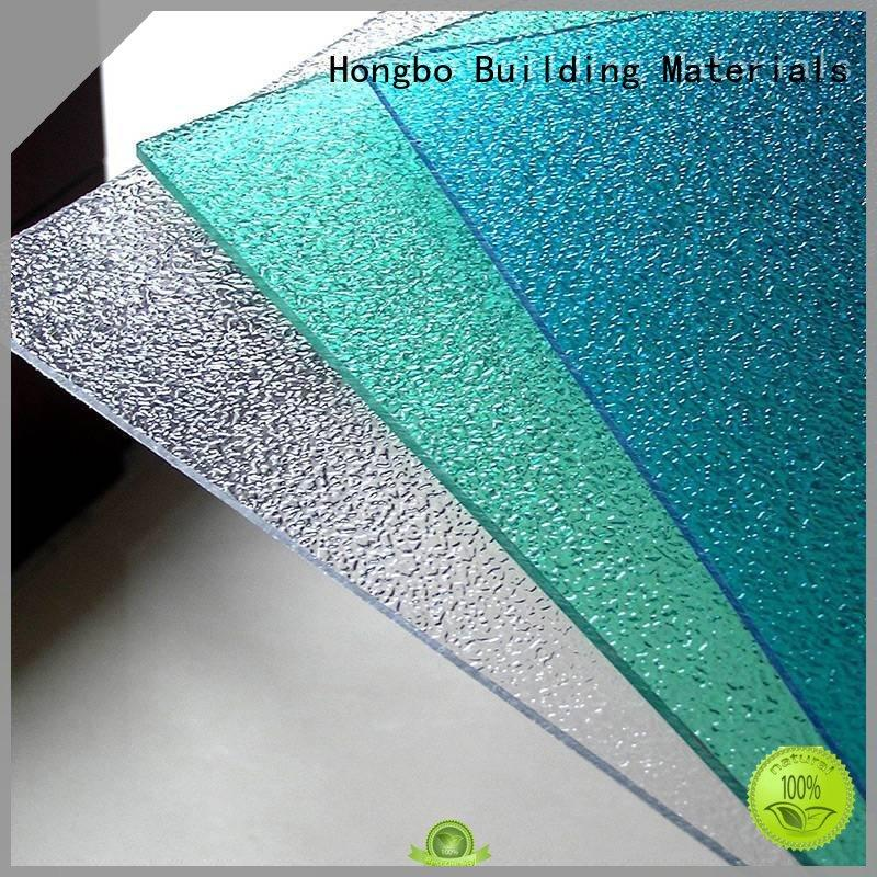 strong polycarbonate roof striped from China for factory