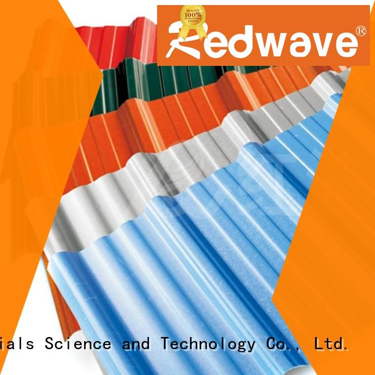 Redwave pvc pvc roofing sheet factory price for workhouse
