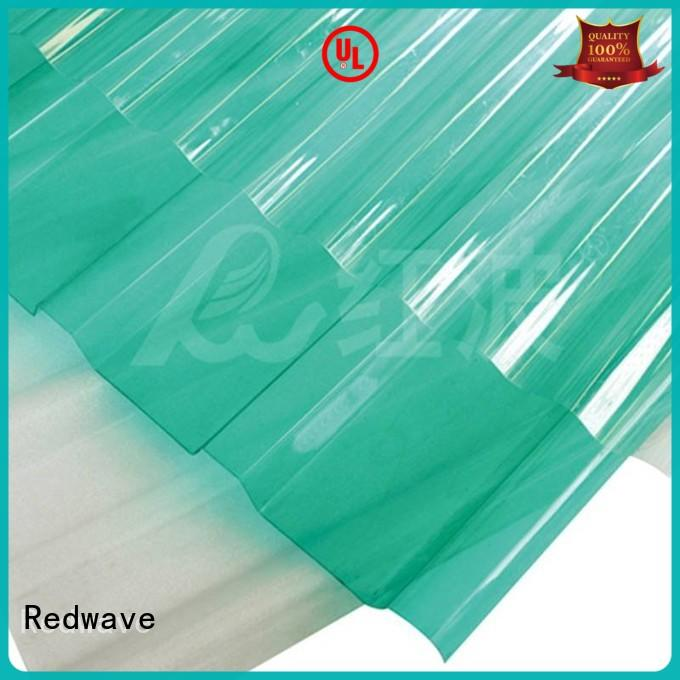Redwave solid polycarbonate price inquire now for ocean hall