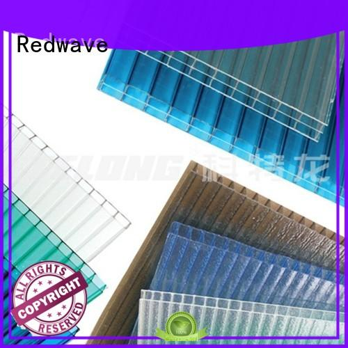 Redwave eco-friendly polycarbonate sheet certifications for ocean hall