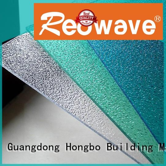 Redwave Brand dark brown 1.5mm solid quality custom polycarbonate roof sheeting prices