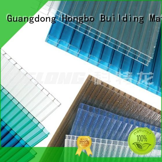 Wholesale dark brown polycarbonate roof sheeting prices corrugated Redwave Brand
