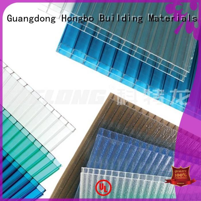 1.2mm Custom 1.5mm 0.8mm polycarbonate roofing sheets Redwave strip
