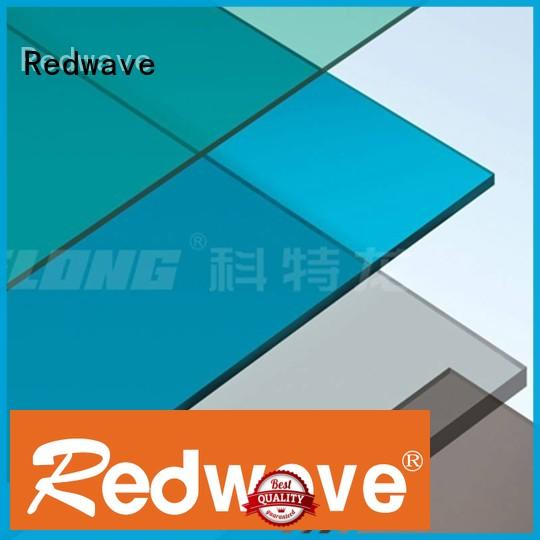 Redwave raindrop polycarbonate roof factory price for workhouse