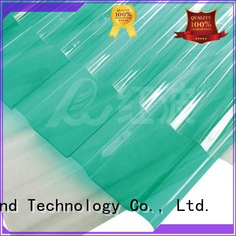 Redwave Brand sheet oem custom polycarbonate roof sheeting prices