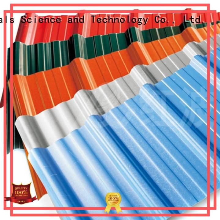redwave corrugated roofing from China for scenic buildings