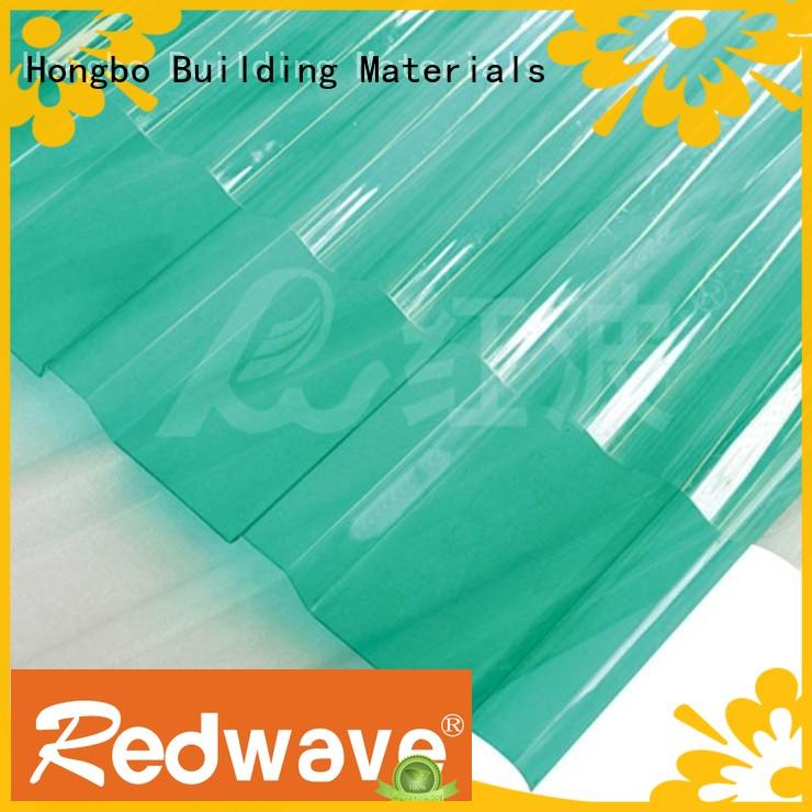 Redwave superior plexiglass sheets in bulk for scenic buildings