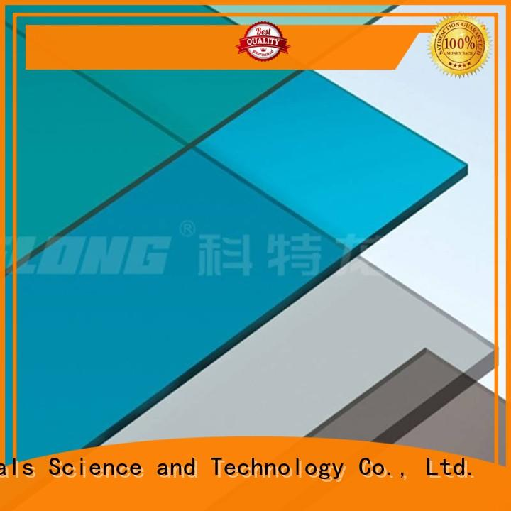 polycarbonate clear polycarbonate sheet with good price for housing Redwave
