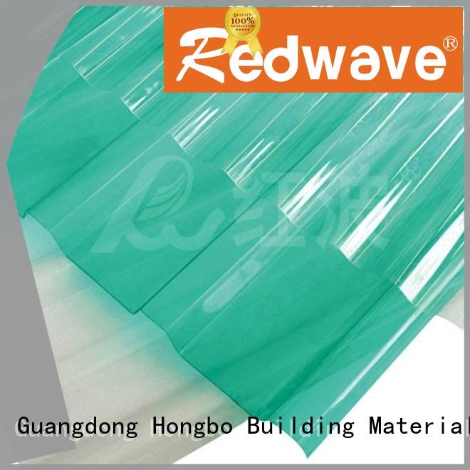Redwave Polycarbonate corrugated sheet