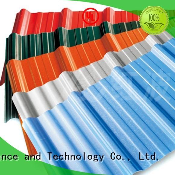 blue Custom pvc asa pvc roofing sheets Redwave insulation