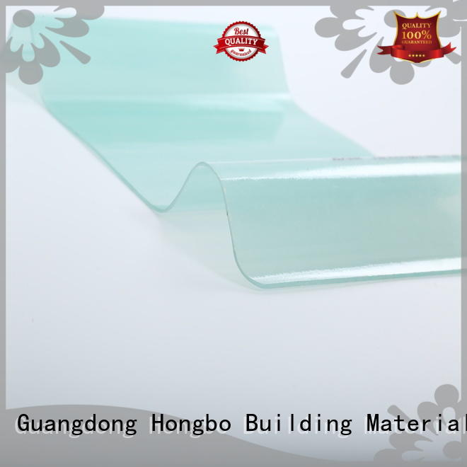 skyblue clear 0.8mm-2.5mm corrugated fiberglass roofing panels Redwave manufacture