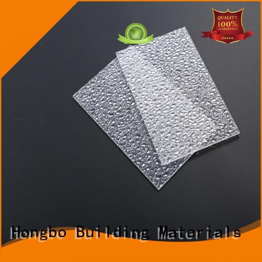 Redwave wholesale polycarbonate sheet in bulk for residence