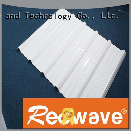 Redwave quality pvc roofing sheet for-sale for ocean hall