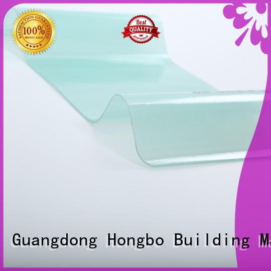 0.8mm-2.5mm oem Redwave Brand corrugated fiberglass roofing panels factory