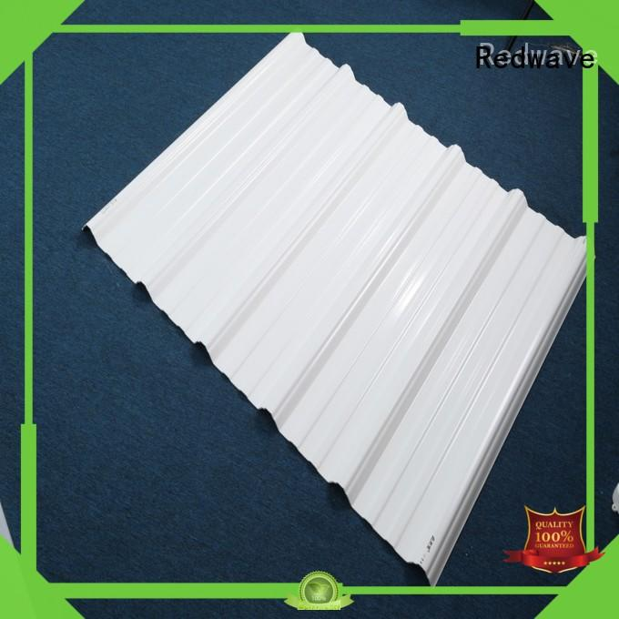 Redwave roofing corrugated plastic sheets factory price for factory