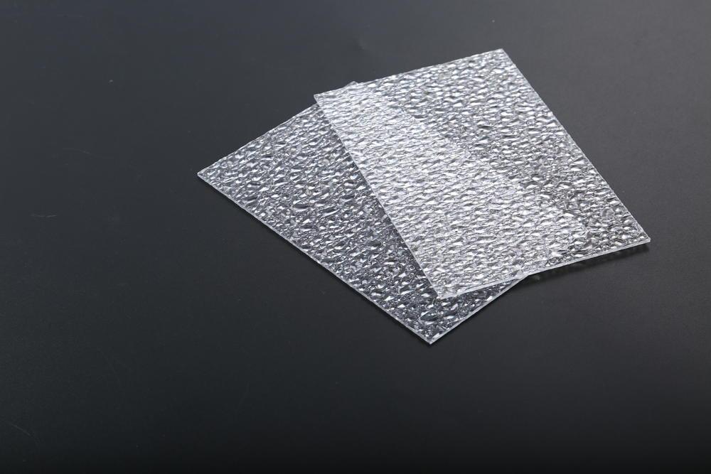 Redwave Polycarbonate embossed sheet diamond texture