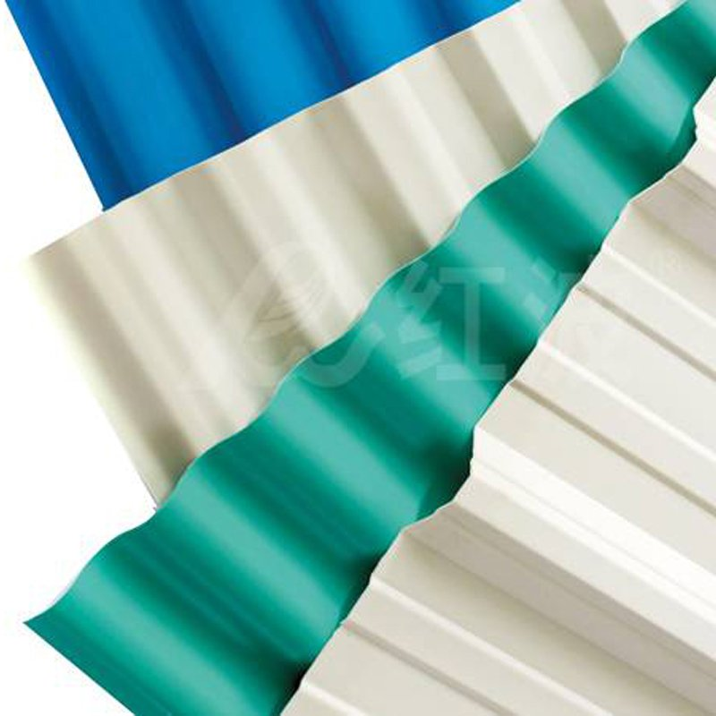 Redwave Redwave PVC roof tile  heat insulation and corrosion resistance PVC Roofing Sheet image2