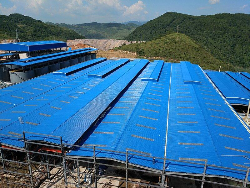 ASAPVC roofing sheet project in Guizhou , 2.0mm , 20000M2