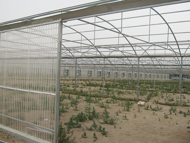 polycarbonate corrugated sheet project in Hubei , 1.0mm , 15000M2