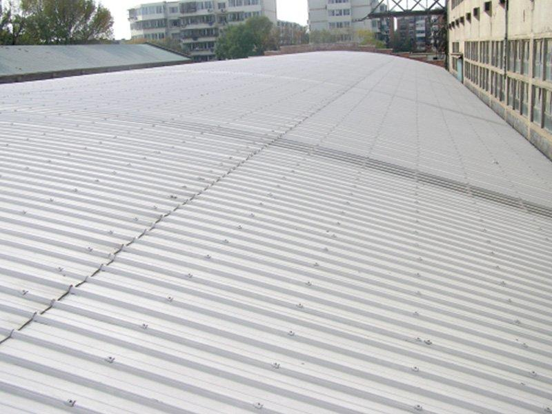 Pvc roofing sheet project in Henan , 2.5mm ,  120000M2