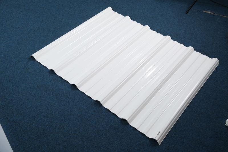 eco-friendly plastic roofing sheets corrosion directly sale for ocean hall