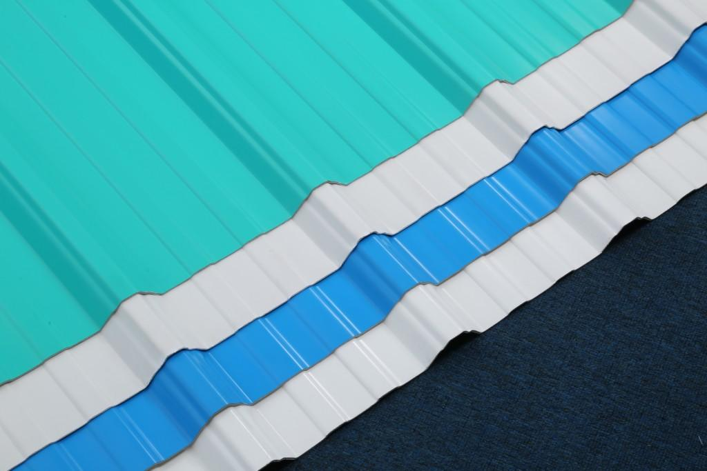 Redwave long pvc roofing sheet for-sale for workhouse