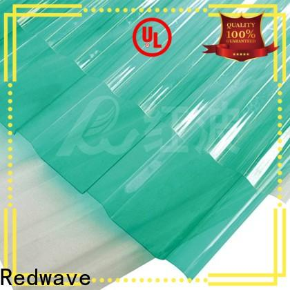 strong polycarbonate roofing sheets striped with certification for workhouse