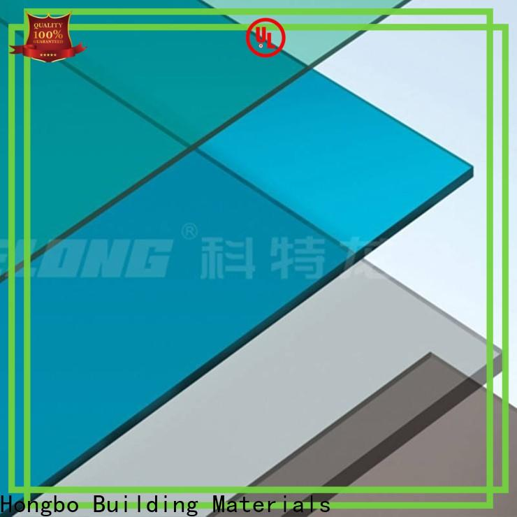 best-selling polycarbonate sheet hollow with certification for housing