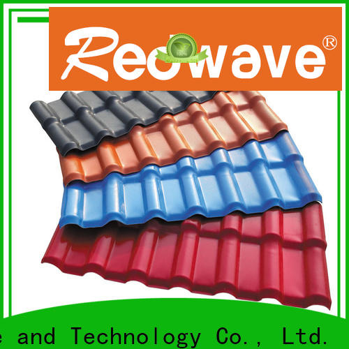 first-rate plastic roofing sheets heat with good price for scenic buildings