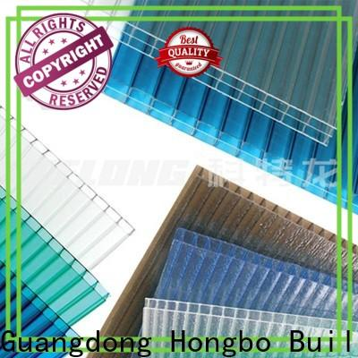 Redwave inexpensive polycarbonate panels with certification for housing