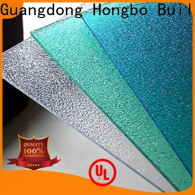 Redwave striped polycarbonate roofing sheets from China for ocean hall