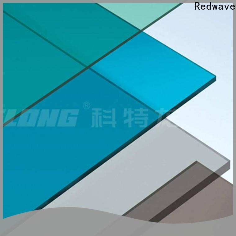 polycarbonate roof striped with certification for workhouse