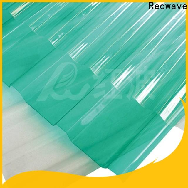 Redwave eco-friendly plexiglass sheets in bulk for scenic shed