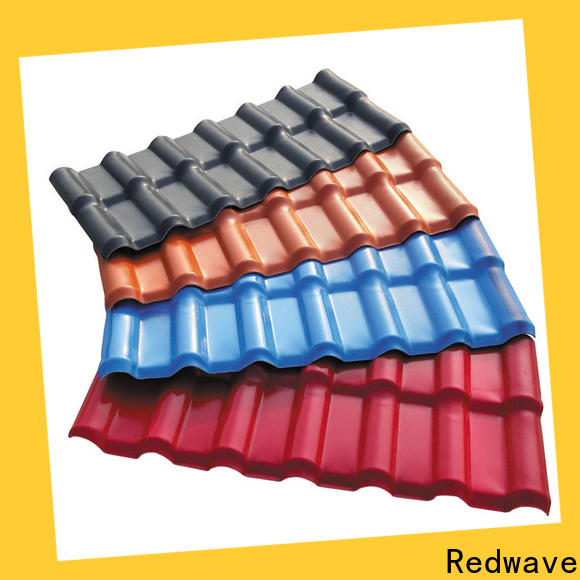 Redwave roof plastic roof tiles factory price for workhouse