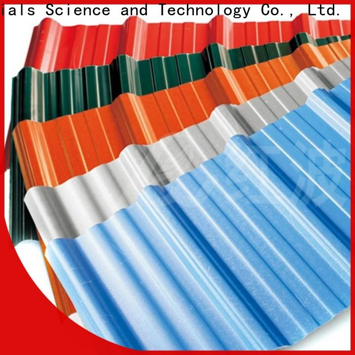 Redwave redwave corrugated plastic roofing sheets widely use for workhouse