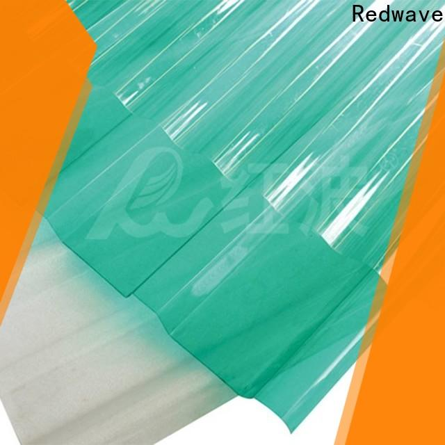 Redwave diamond polycarbonate roof with good price for housing