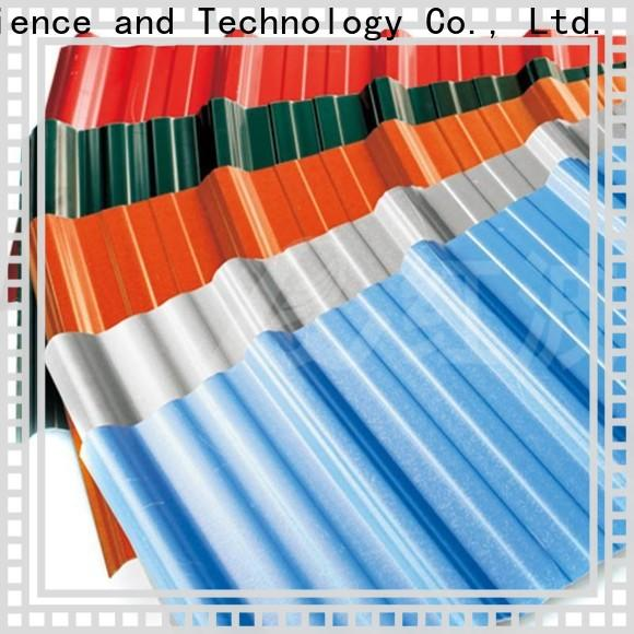 wholesale corrugated roofing color widely use for factory