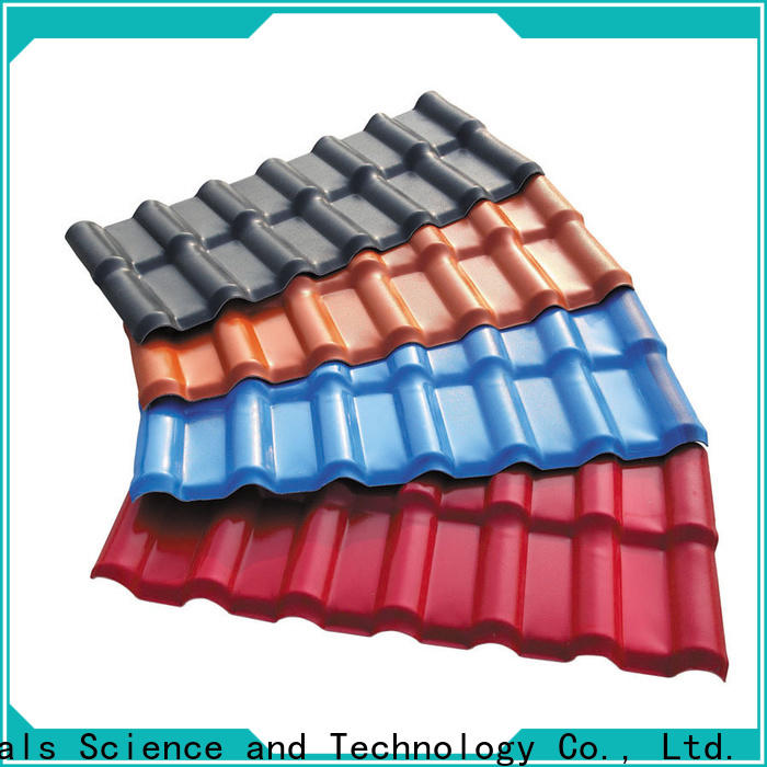 Redwave durable corrugated plastic roofing certifications for residence