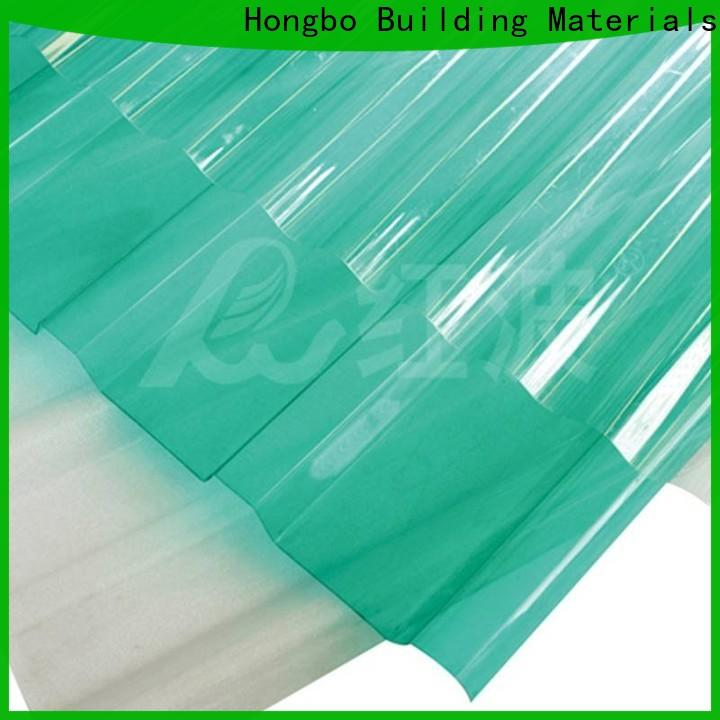 inexpensive polycarbonate roofing sheets embossed with certification for housing