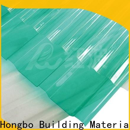 durable polycarbonate panels hollow factory price for scenic shed