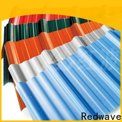 Redwave eco-friendly roofing sheets with good price for factory