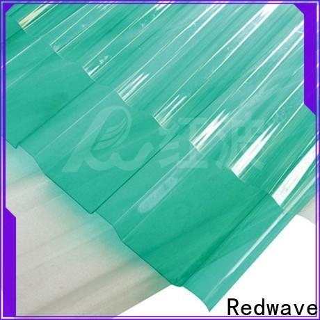 Redwave redwave polycarbonate sheet certifications for workhouse