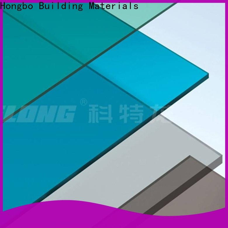 inexpensive polycarbonate sheet hollow factory price for housing