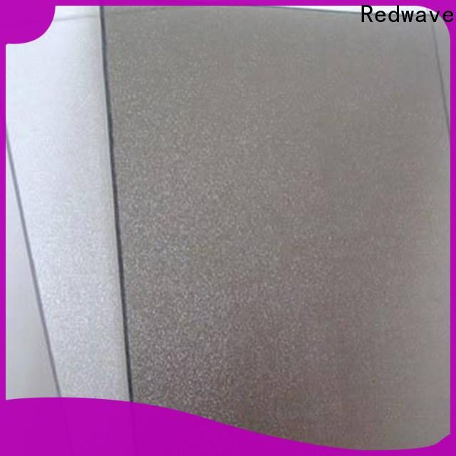 Redwave diamond clear polycarbonate sheet with good price for scenic buildings