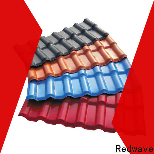 Redwave best-selling corrugated plastic roofing order now for workhouse